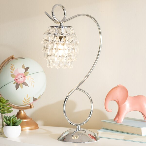 Mario and Crystal Dangle 19.25 Desk Lamp by Viv +