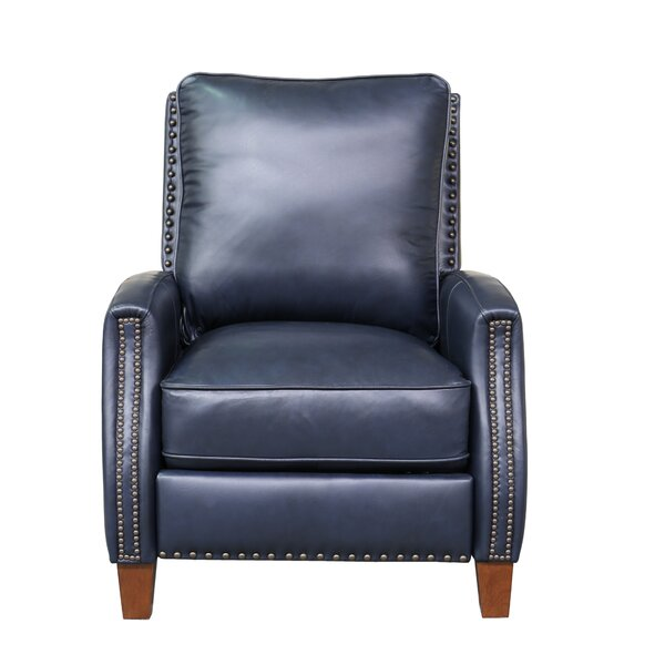 Bradly Leather Manual Recliner By Canora Grey.