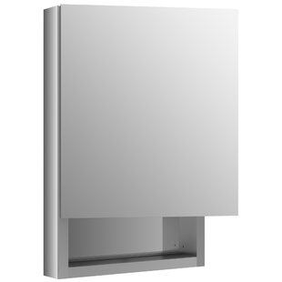 Searching for Verdera 20 x 30 Aluminum Medicine Cabinet with Adjustable Magnifying Mirror, Slow-Close Door, Open Shelf and Left-Hand Hinge By Kohler