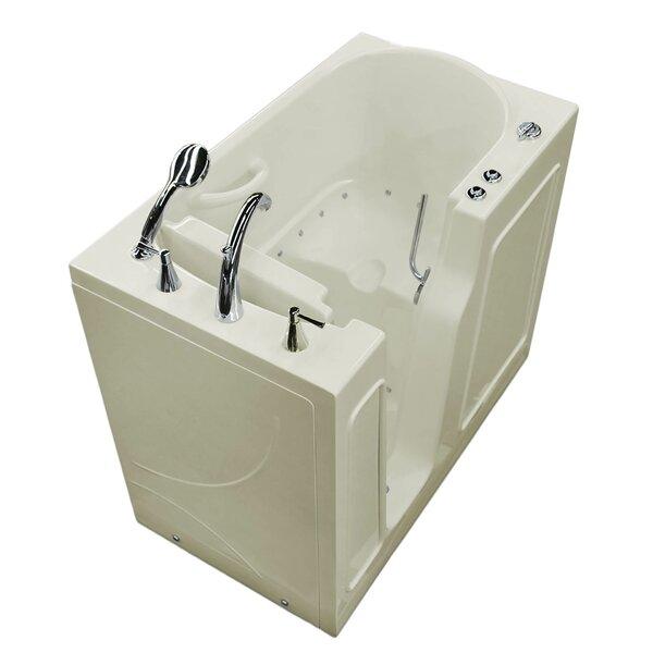 Prairie 46 x 26 Walk In Air Bathtub by Therapeutic Tubs
