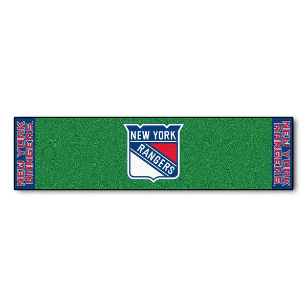 NHL - New York Rangers Putting Green Doormat by FANMATS