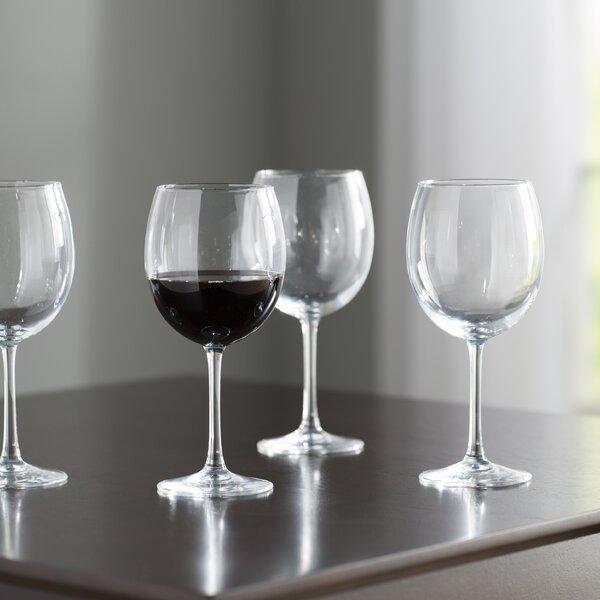 Wayfair Basics Glass 20.5 oz. Red Wine Glass (Set of 4) by Wayfair Basics™