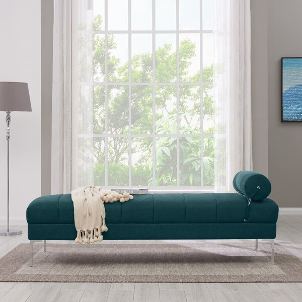Ken Upholstered Channel Daybed by Wrought Studio