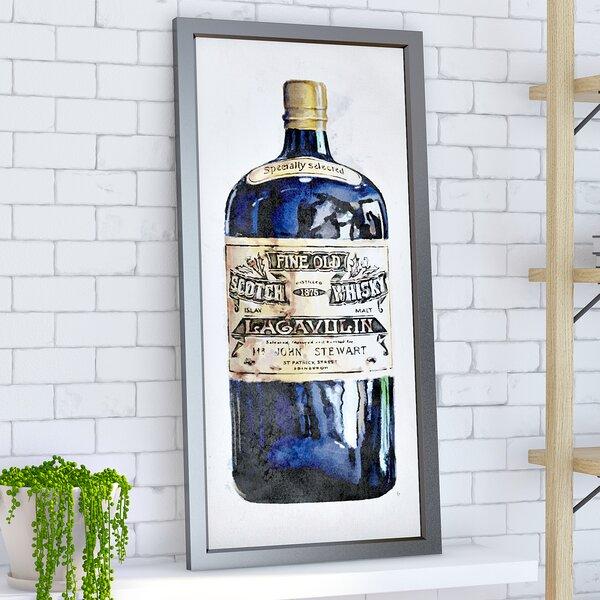 Fine Old Whiskey Framed Vintage Advertisement by Brayden Studio