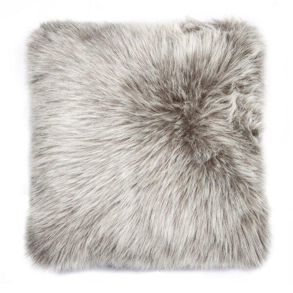 Gaetane Faux Fur Throw Pillow by Willa Arlo Interiors| @ $49.00