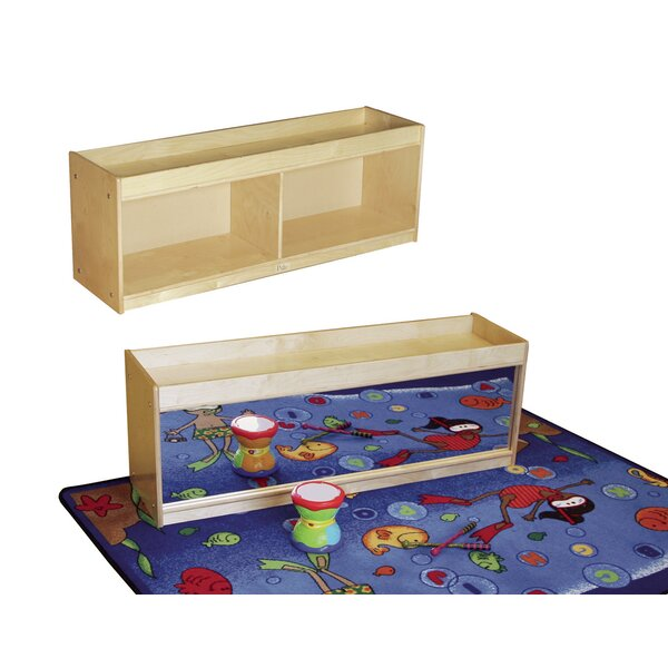 Daycare Toddler Ledge Portable 2 Compartment Cubby by Kids' Station