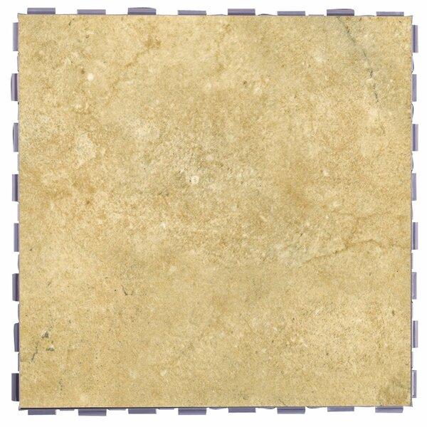 Classic Standard 12 x 12 Porcelain Field Tile in Nutmeg by SnapStone