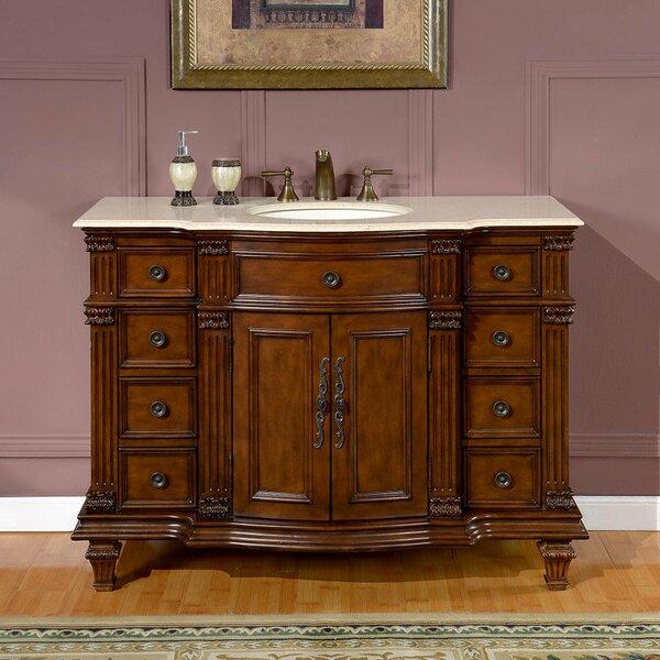 Brennen 48 Single Bathroom Vanity Set by Fleur De Lis Living