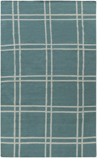 Sheffield Market Teal Green Area Rug by Angelo:Home
