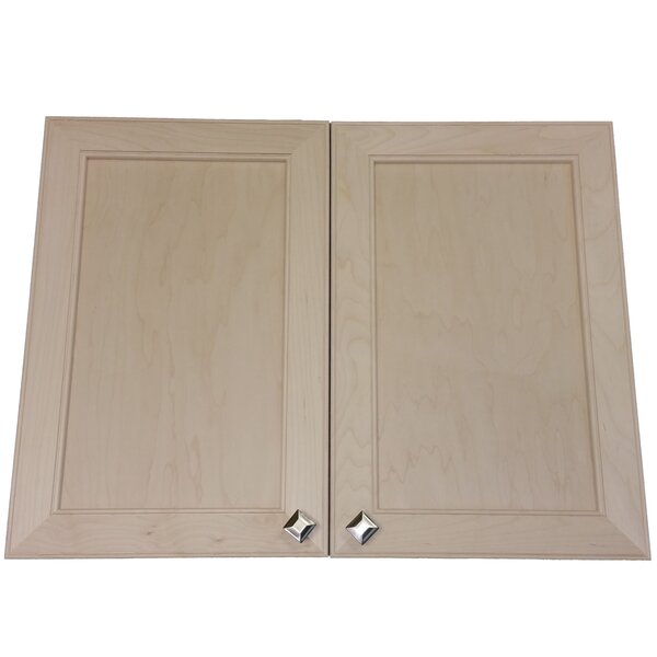 Village 31 x 29.5  Wall Mounted Cabinet by WG Wood Products