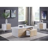 Acad 2 Piece Coffee Table Set by Orren Ellis
