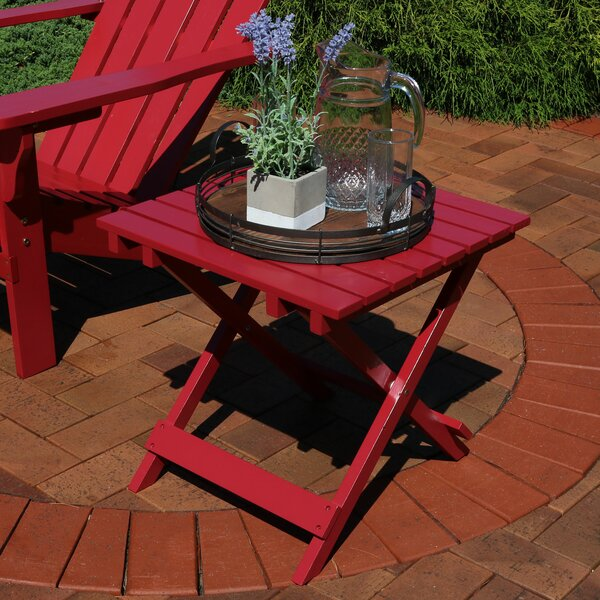 Susan Solid Wood Side Table by Millwood Pines
