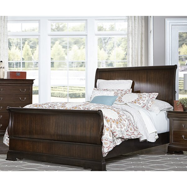 Hebden Sleigh Bed by Charlton Home
