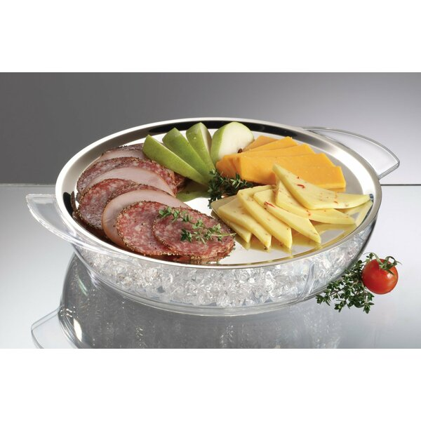 2 Piece Iced Platter Set by Prodyne