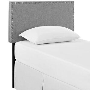 Preiss Twin Upholstered Panel Headboard by Varick Gallery