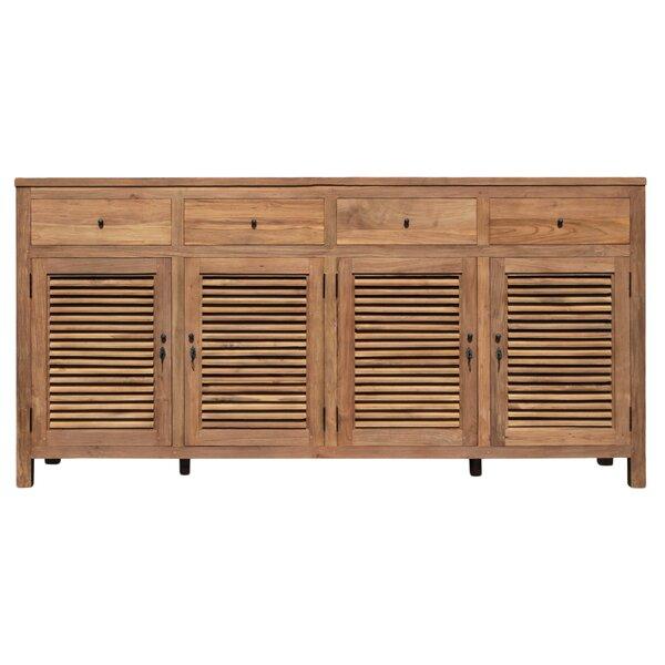 Flagler 4 Door Cabinet by Loon Peak