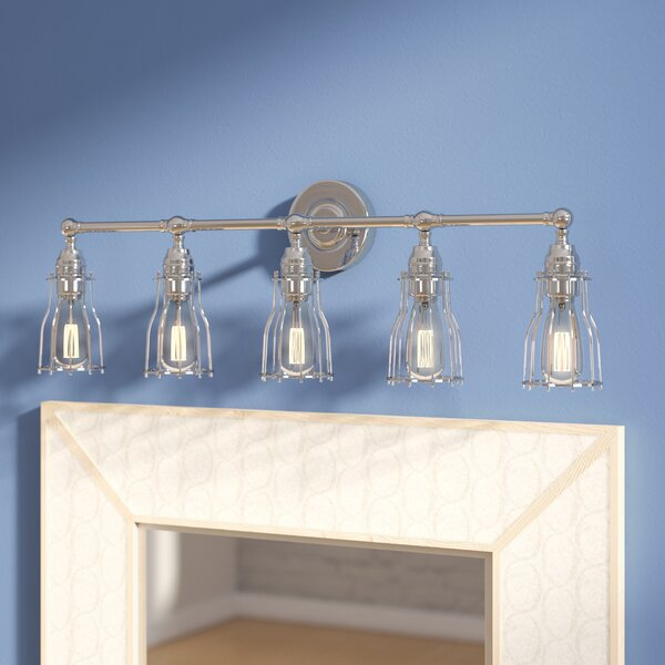 Margarida 5-Light Vanity Light by 17 Stories