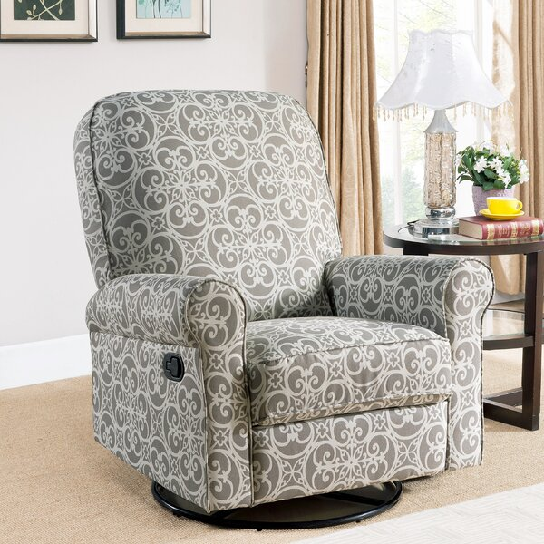 Mathers Swivel Reclining Glider by Darby Home Co