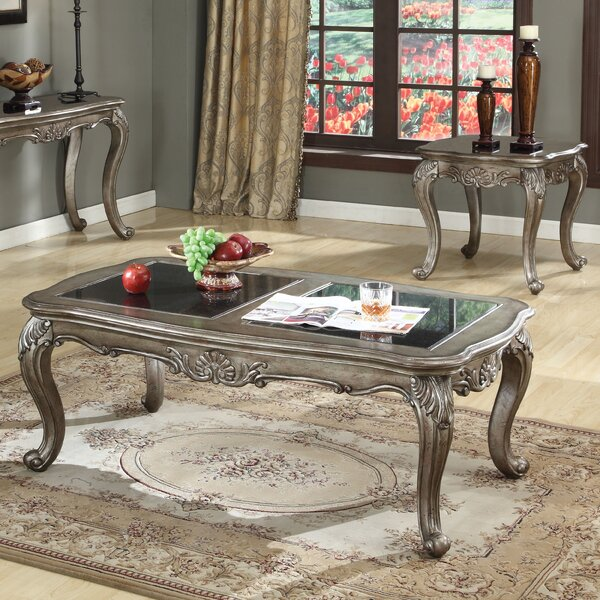 Chantelle 2 Piece Coffee Table Set by A&J Homes Studio A&J Homes Studio