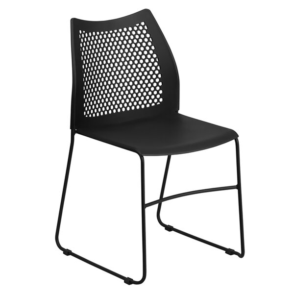 Eldert Armless Stacking Chair by Ebern Designs