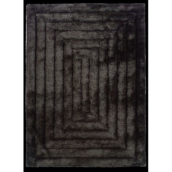 Hand-Tufted Charcoal Area Rug by The Conestoga Trading Co.