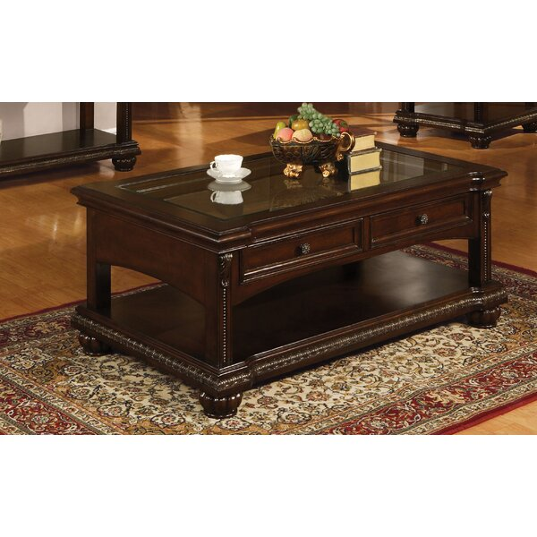 Stackhouse Floor Shelf Coffee Table By Astoria Grand
