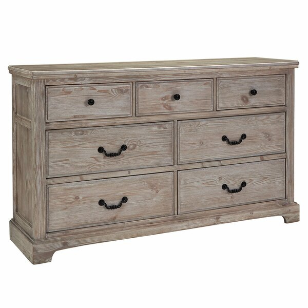 Caroline 6 Drawer Double Dresser by One Allium Way