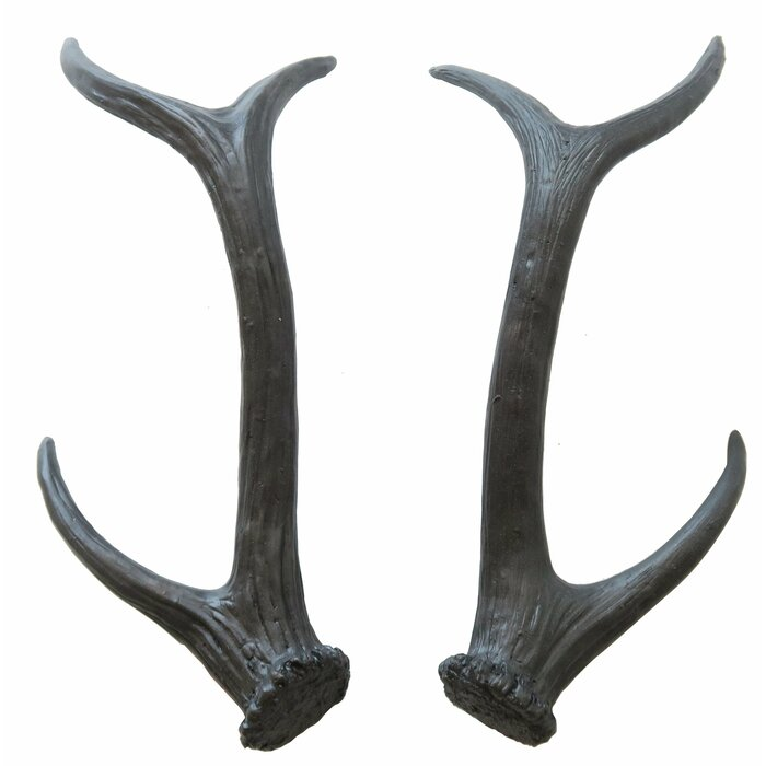 Faux Taxidermy Table Top Antlers Wall Decor