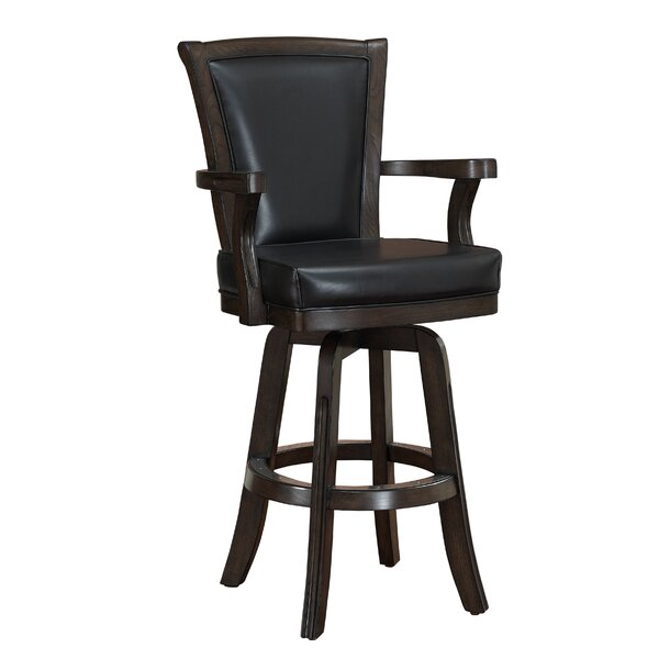 Buchholz 31 Swivel Bar Stool by Darby Home Co