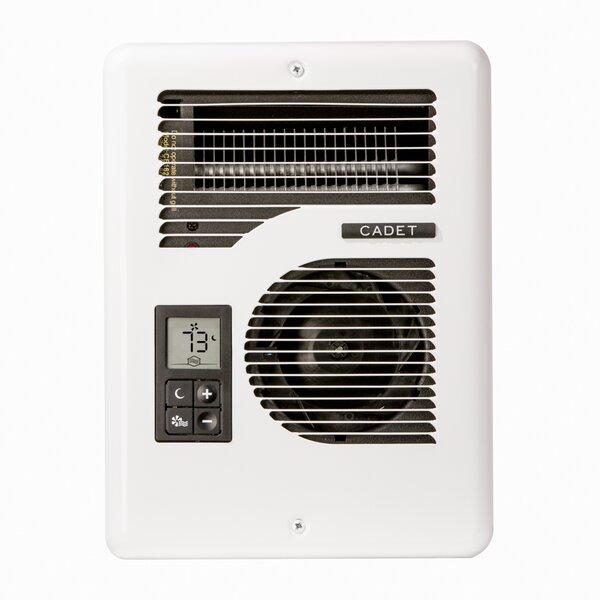 Com-Pak Series Energy Plus Multi-Watt 120/240-Volt Electric Fan Wall Heater by Cadet