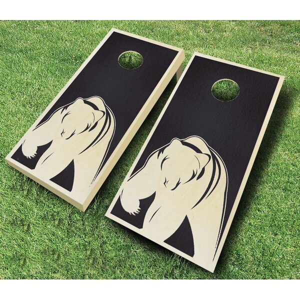 Bear 10 Piece Cornhole Set by AJJ Cornhole