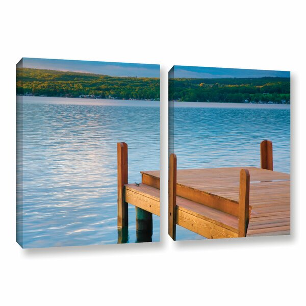 End of Summer by Steve Ainsworth 2 Piece Photographic Print on Gallery Wrapped Canvas Set by ArtWall