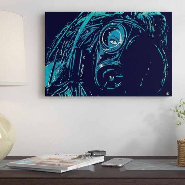 CyberPunk by Giuseppe Cristiano Painting on Wrapped Canvas by East Urban Home