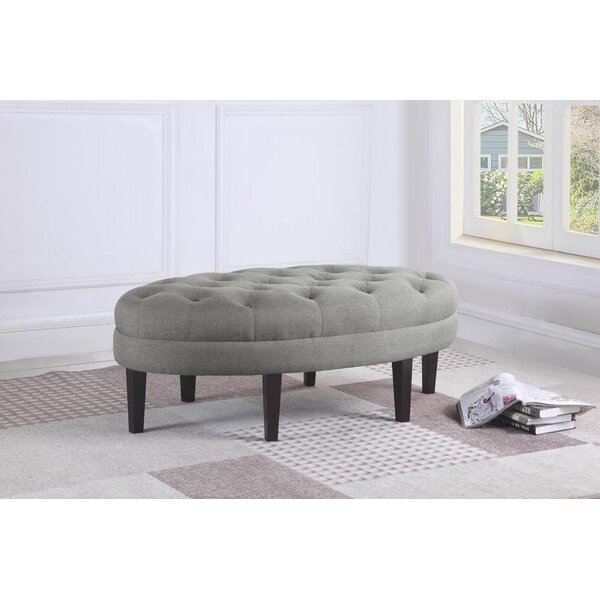 Bassler Tufted Ottoman by Darby Home Co