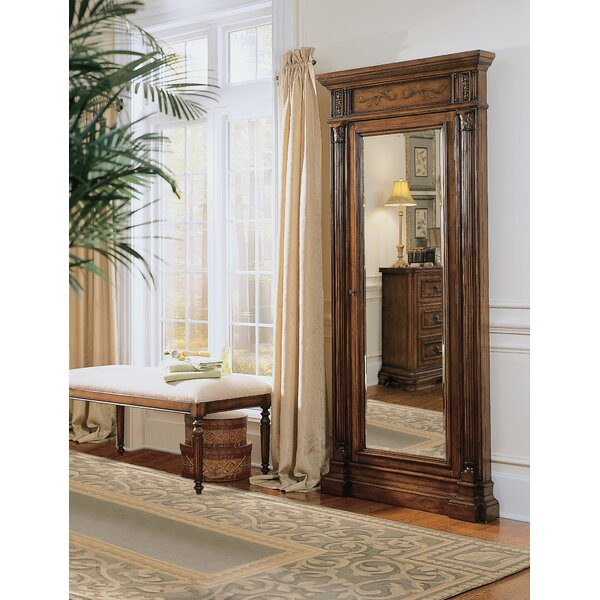 Seven Seas Wall mounted Jewelry Armoire with Mirror by Hooker Furniture Hooker Furniture