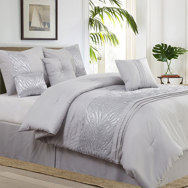 Rizzuto Nature/Floral 7 Piece Comforter Set by Willa Arlo Interiors
