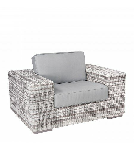 Imprint Patio Chair with Cushions by Woodard
