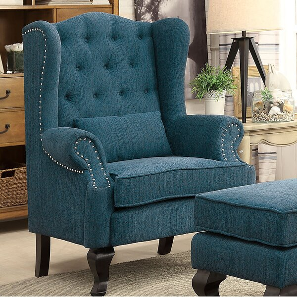 Evins Wingback Chair by Darby Home Co