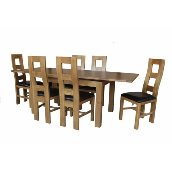 Pecoraro 7 Piece Dining Set by Loon Peak