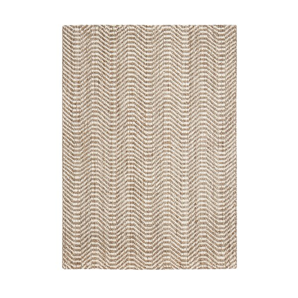 Halima Hand-Woven Tan/Ivory Area Rug by Union Rustic