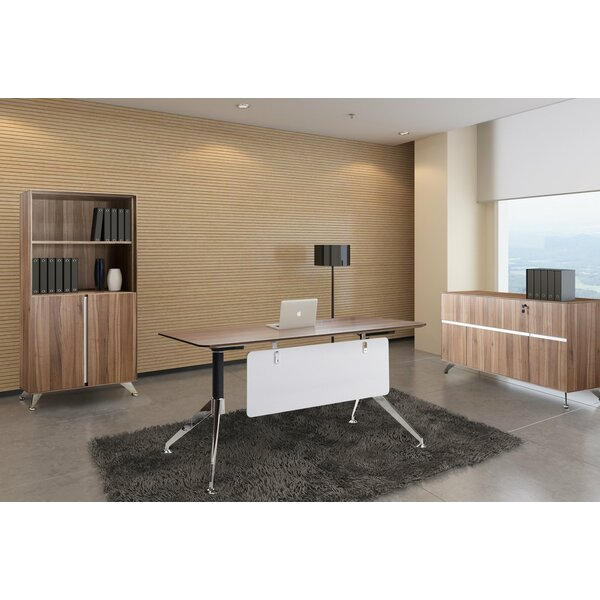 Manhattan Collection 3 Piece Desk Office Suite by Haaken Furniture