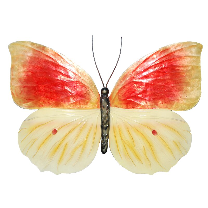 Eco Style Home Butterfly Wall Decor & Reviews   Wayfair