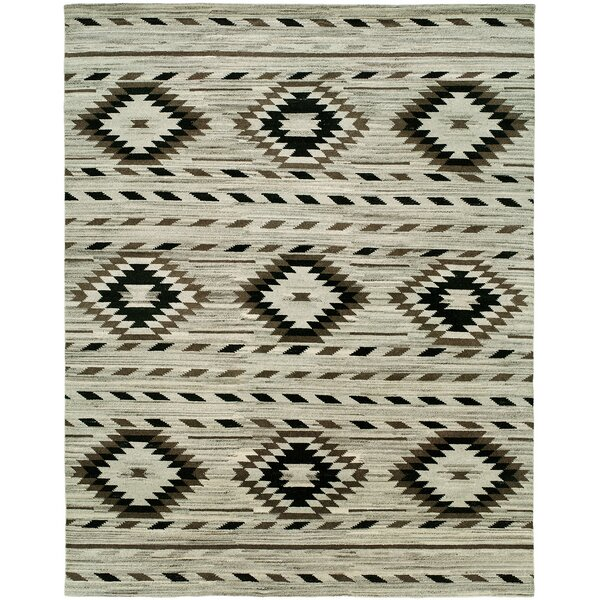 Youmans Hand-Knotted Wool Ivory Area Rug
