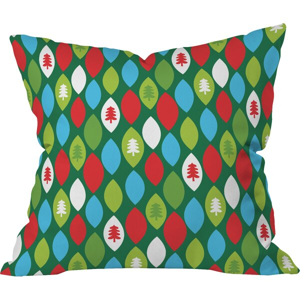 Zoe Wodarz Mini Forest Indoor Throw Pillow by Deny Designs