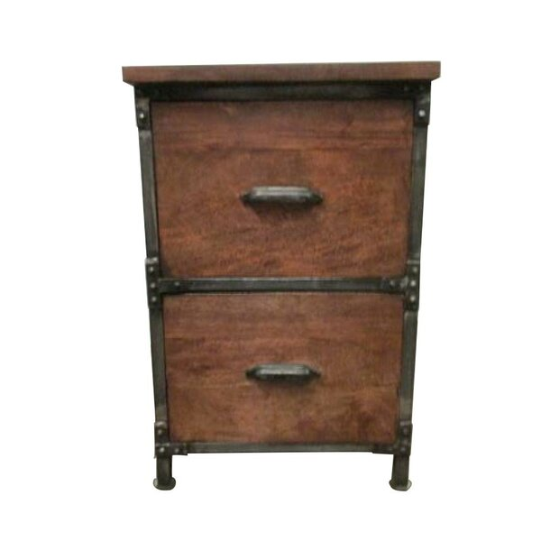 Caffey 2-Drawer Filing Cabinet