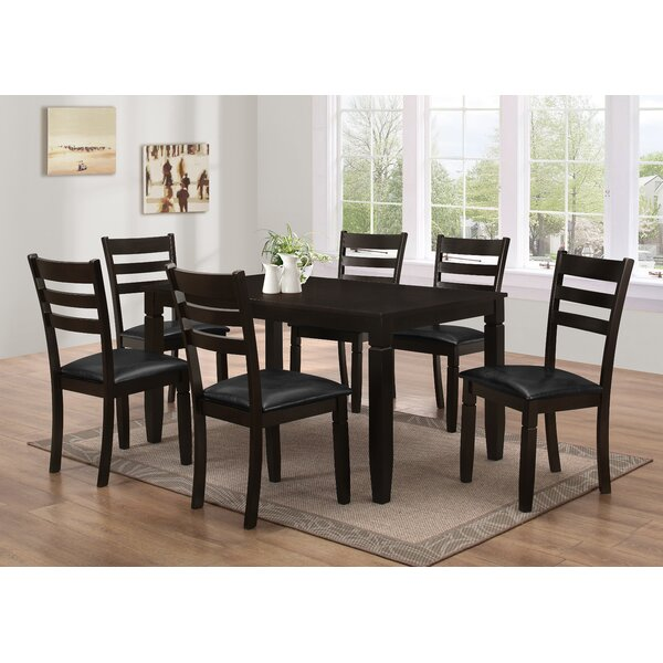 Felipe 7 Piece Dining Set by Latitude Run