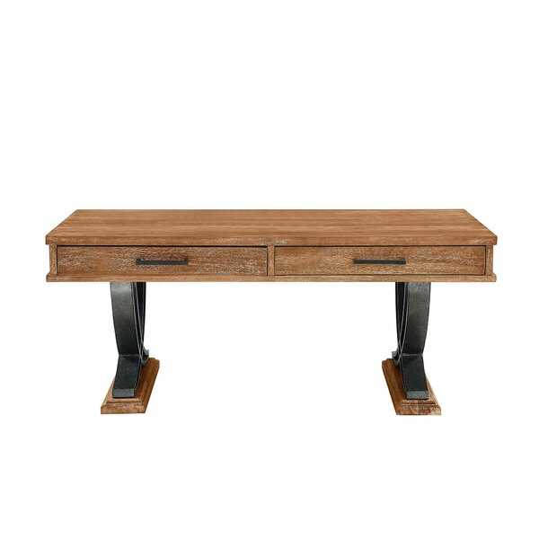 Signe Trestle Coffee Table With Storage By Foundry Select