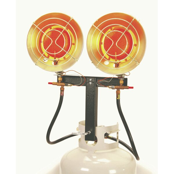 31600 Propane Mounted Patio Heater by AZ Patio Heaters