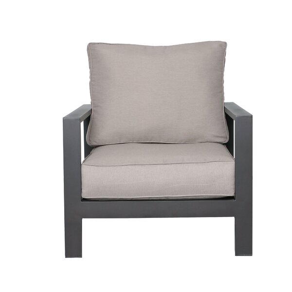 Lepage Patio Chair with Cushions by Breakwater Bay