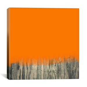 Modern Over the Fence Graphic Art on Canvas by iCanvas